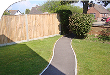 fencing and garden maintenance
